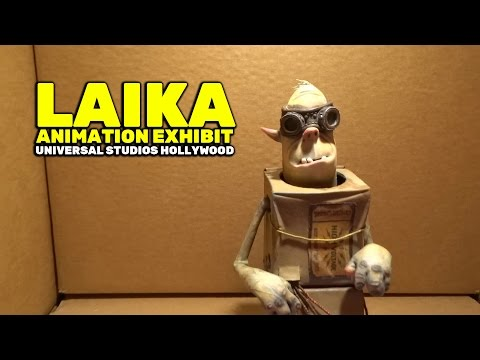 """From Coraline to Kubo: A Magical Laika Experience"" animation exhibit at Universal Studios Hollywood"