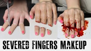 Severed Fingers Makeup Tutorial | Freakmo