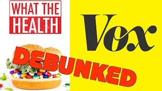 What The Health Debunked By Vox: Vegan Diet Fail!