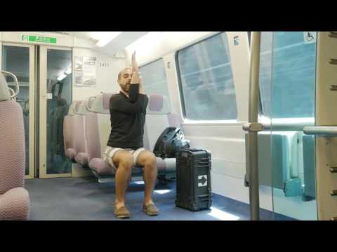MyPureYoga - Robert Cervantes : Practice On The Train