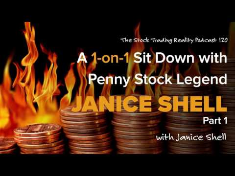 STR 120: A 1-on-1 Sit Down with Penny Stock Legend Janice Shell (audio only)