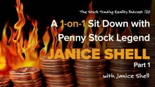 Str 120: A 1 On 1 Sit Down With Penny Stock Legend Janice Shell (audio Only)