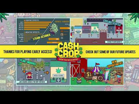 Interview with The DEVELOPERS of CASH CROP!!!