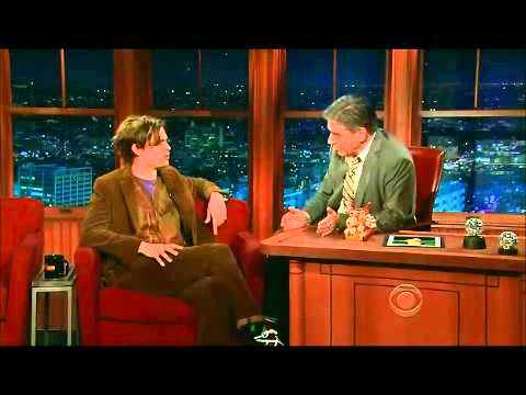 Matthew Gray Gubler - The late late show with Craig Ferguson (03/01/12)