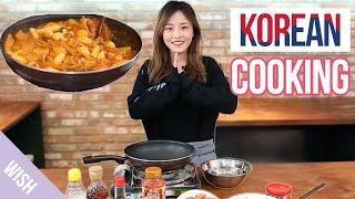 Korean Cooking w/ Kasper | Tteokbokki/Ddukbokki (캐스퍼 떡볶이 만들기) | Wishtrend