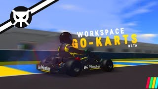 BEST KARTING GAME ON ROBLOX?! ▼ Workspace Go-Karts ▼