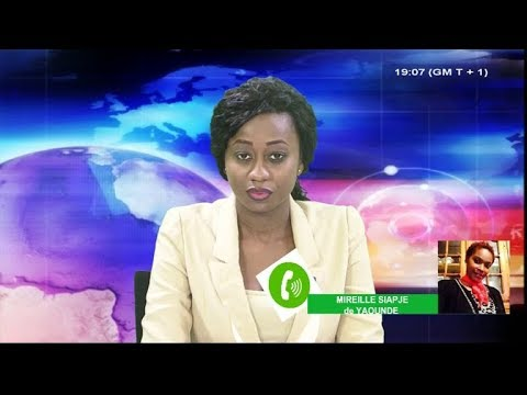 JOURNAL STV 19H00 - (AYUK TABE et Cie INCARCÉRÉS à YAOUNDÉ) - 29 Janvier 2018 - Leila Reine NGANZEU