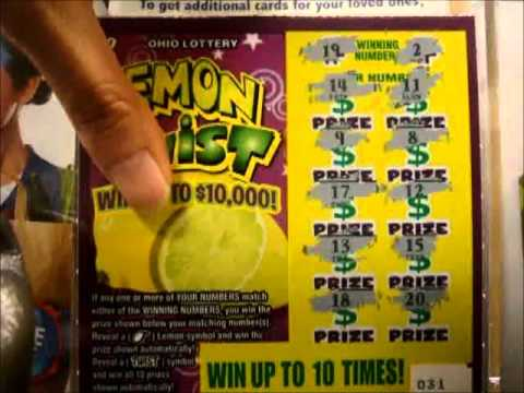 A $10! OHIO LOTTERY SCRATCH OFF TICKET - YouTube