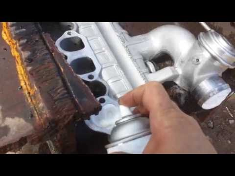 TDI intake cleaning with oven cleaner