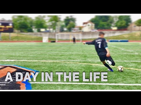 A DAY IN THE LIFE OF TWO 16 YEAR OLD SOCCER PLAYERS EP.1!!!!