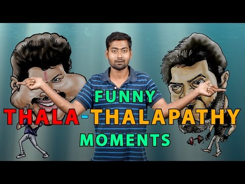 TOP 10 FUNNY THALA - THALAPATHY MOMENTS  | Ft. Varun | Countdown | Madras Central