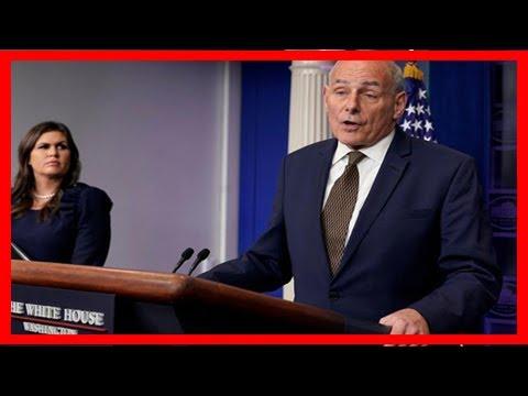 Breaking News   John kelly rebukes trump's critics over military death