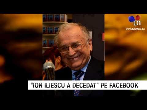 """""""Ion Iliescu a decedat"""" pe Facebook - Litoral TV"""