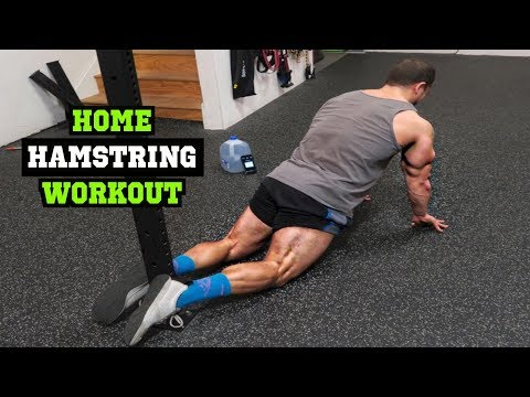 Intense 5 Minute At Home Hamstring Workout