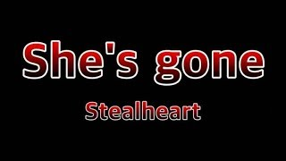 She's Gone - Steelheart(Lyrics)