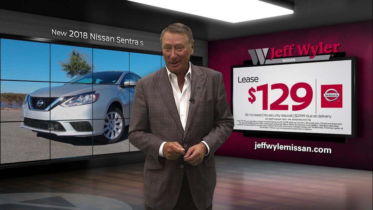 Jeff Wyler Nissan >> Jeff Wyler Nissan 2018 Sentra Special Youtube