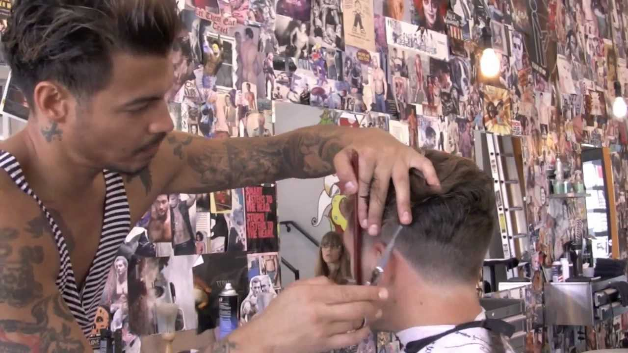 Slikhaar TV 146 Mens Hairstyle 2012 Haircut And Blowdry