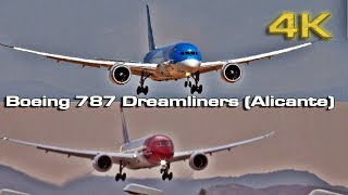 Boeing 787 Dreamliners at Alicante Elche Airport (ALC)