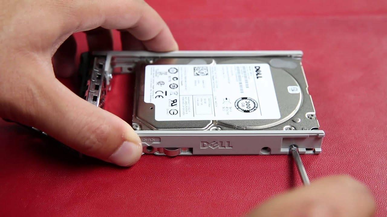 Dell Poweredge 13g Rack Servers Remove Hard Drive
