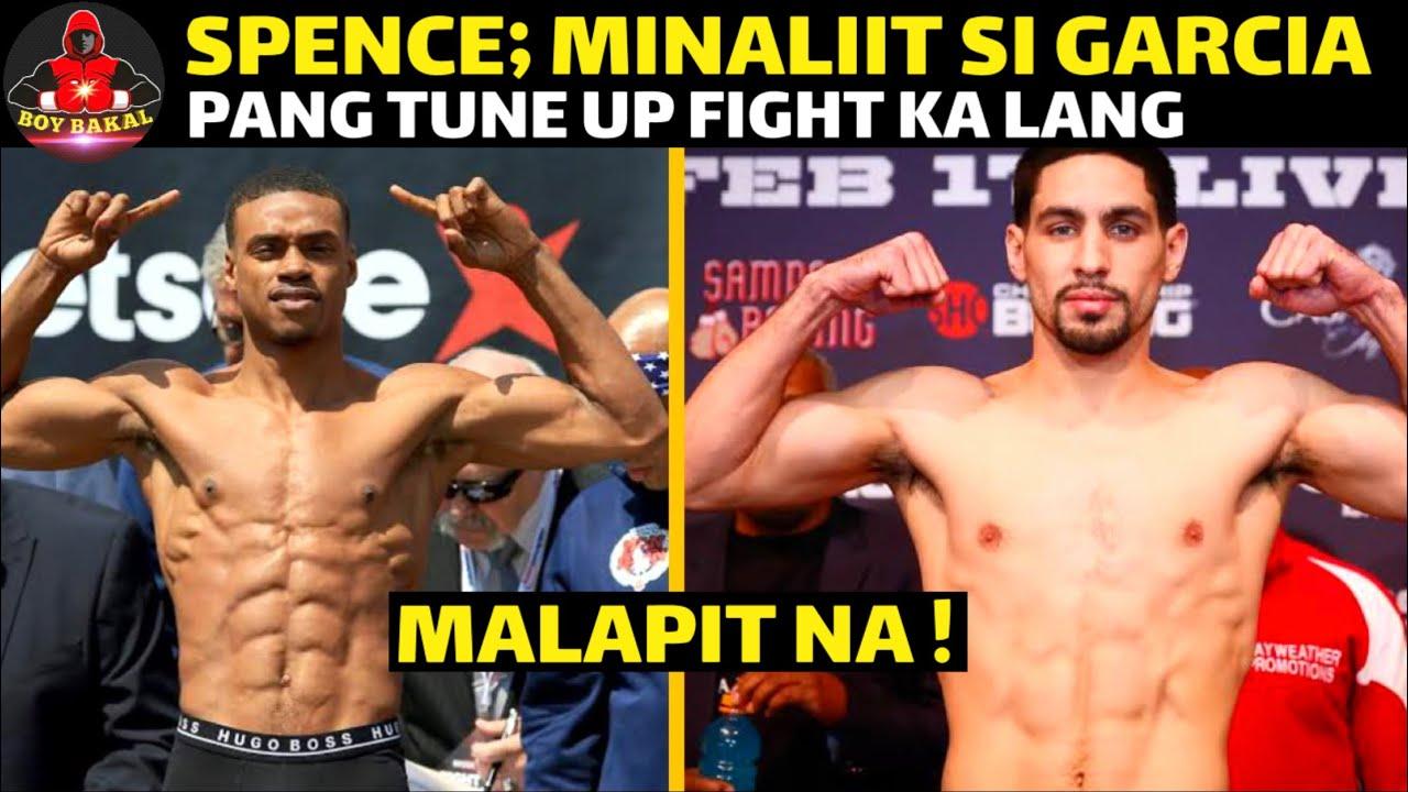 Errol Spence Minaliit Si Danny Garcia, Pang Tune Up Fight Daw Ang Galawan