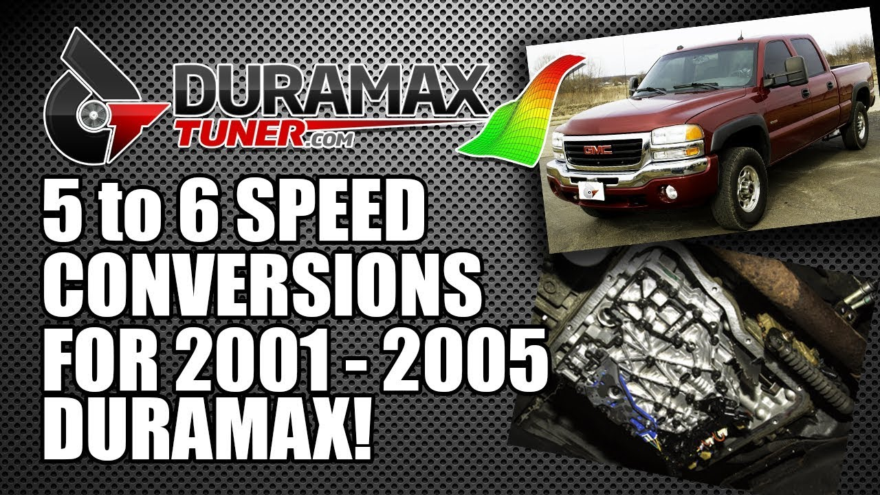 duramax 2001 - 2005 six speed conversion