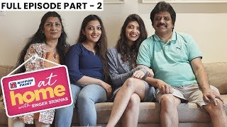 At home with Singer Srinivas & Family| AR Rahman & MSV have visited my home |PART 2| JFW Exclusive