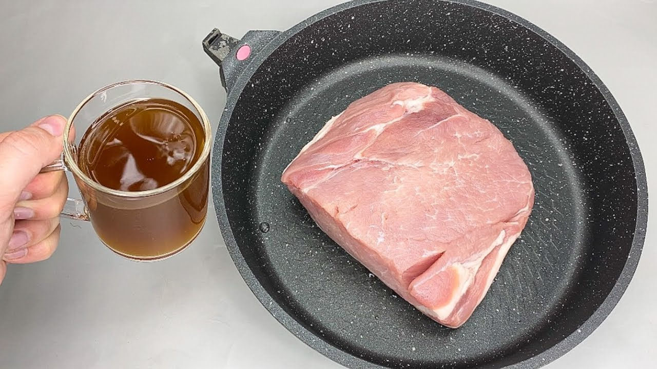 Такое МЯСО всегда ПОЛУЧАЕТСЯ СОЧНЫМ! Тушу мясо в КВАСЕ!