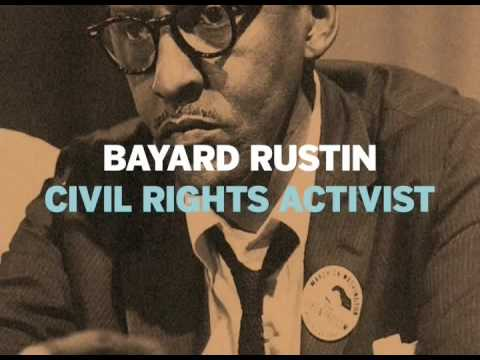 glbtHistoryMonth.com - Bayard Rustin