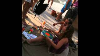 Matala Festival 2011 day 2 - The hippie creative corner