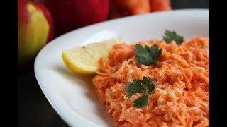 Zapętlaj Surówka z marchewki i jabłka szybka i bardzo smaczna | Gotuj to sam !!!