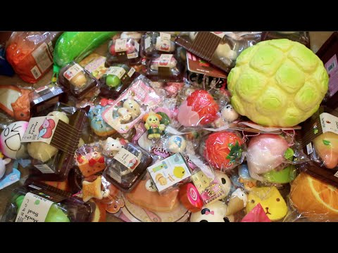 Biggest Squishy Collection Ever : MY BIGGEST SQUISHY COLLECTION EVER!! Cyndercake415 - YouTube