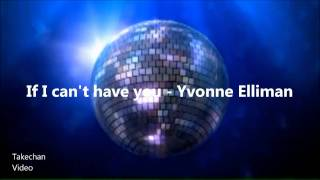 If I can't have you [HQ-Audio] - Yvonne Elliman