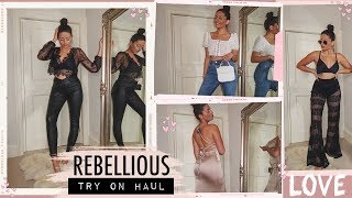 HUGE SPRING / SUMMER CLOTHING TRY ON HAUL · REBELLIOUS FASHION | Emily Philpott