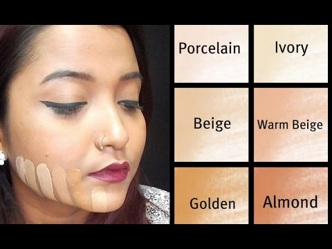 How To Choose The Right Foundation Shade Beginner Indian Skin Tone Youtube