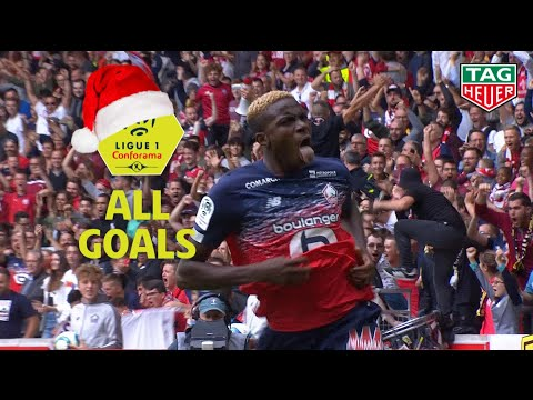 All Victor Osimhen goals | mid-season 2019-20 | Ligue 1 Conforama