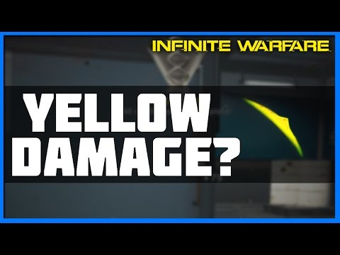 What the Yellow Damage Indicator Means   Infinite Warfare Quick Tips!