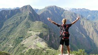 Hiking Machu Picchu Mountain Huayna Picchu