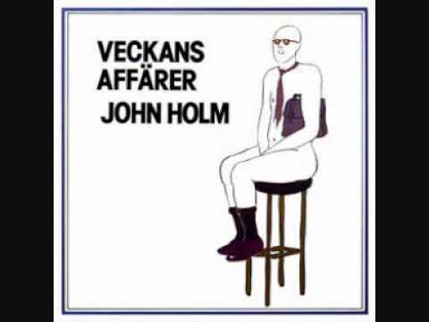 John Holm - Man har blivit smått blasé (1976).wmv