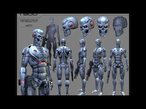 Download T-900 Terminator Technical Information Images