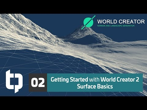 02 | Getting Started with World Creator 2 | Surface Basics