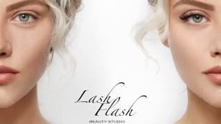 Наращивание ресниц в студии Lash Flash