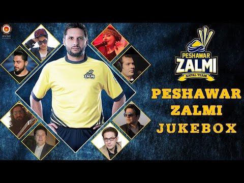 Peshawar Zalmi PSL 2016 - Full Songs Jukebox | Pakistan Super League | Shahid Afridi | New Songs