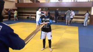 KAZBEK ACHMIZOV,  HARD TRAINING IN RUSSIA JUDO TEAM U21