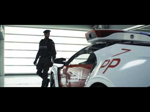 Abu Dhabi Police   Introducing the Lykan Hypersport 4K