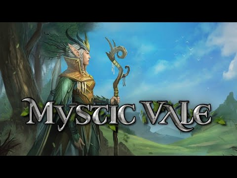 Mystic Vale - a deck building strategy game - First look #mysticvale
