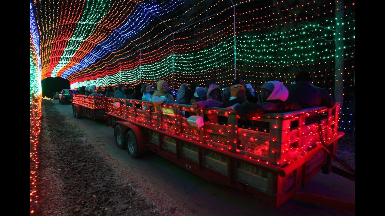 Santa s wonderland hayride tours youtube