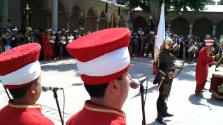 Mehter Takimi Topkapi Istanbul Turkey 2010 Mehter Marsi 720p HD video part 2(Turkey Istanbul Topkapi 2010 Ottoman Mehter Group., 2010-10-01T12:15:43.000Z)