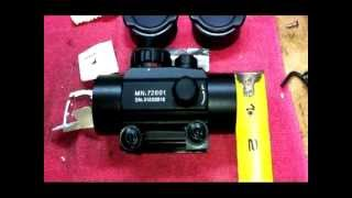 Part 1 of 2: Centerpoint Tactical Red/Green Dot Scope Review; Model No. 72601