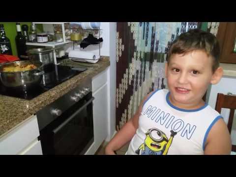 Geo petit chef 6 anișori ....Spaghete a la petit jorjaque