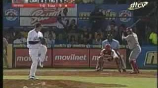 Hit 1290 de Robert Pérez en la LVBP - Meridiano TV
